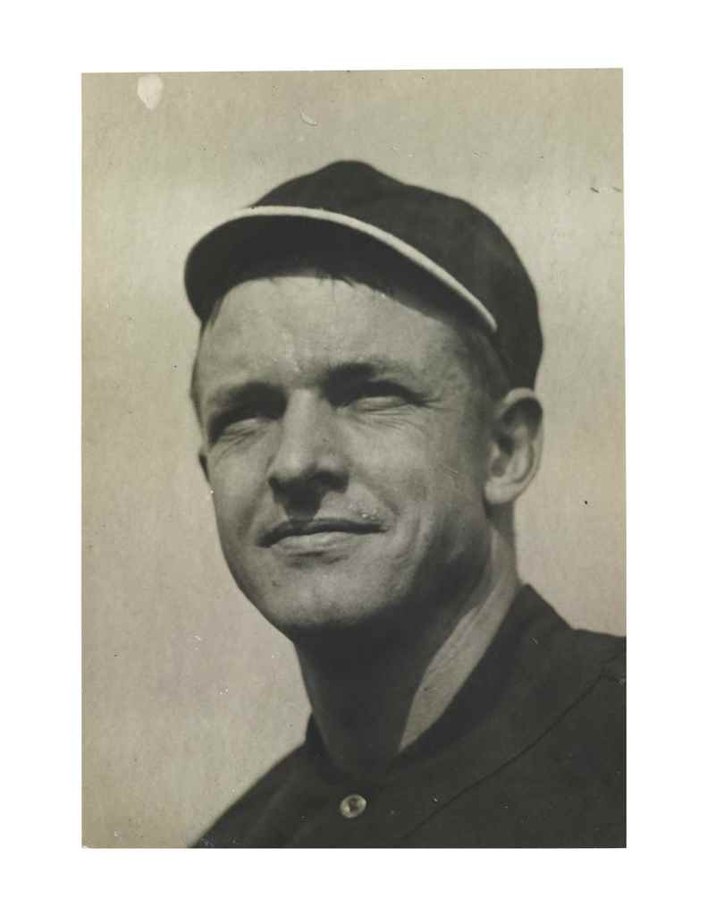 CHRISTY MATHEWSON PHOTOGRAPH
