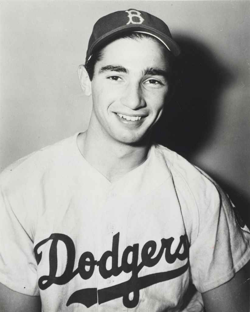 SANDY KOUFAX PHOTOGRAPH