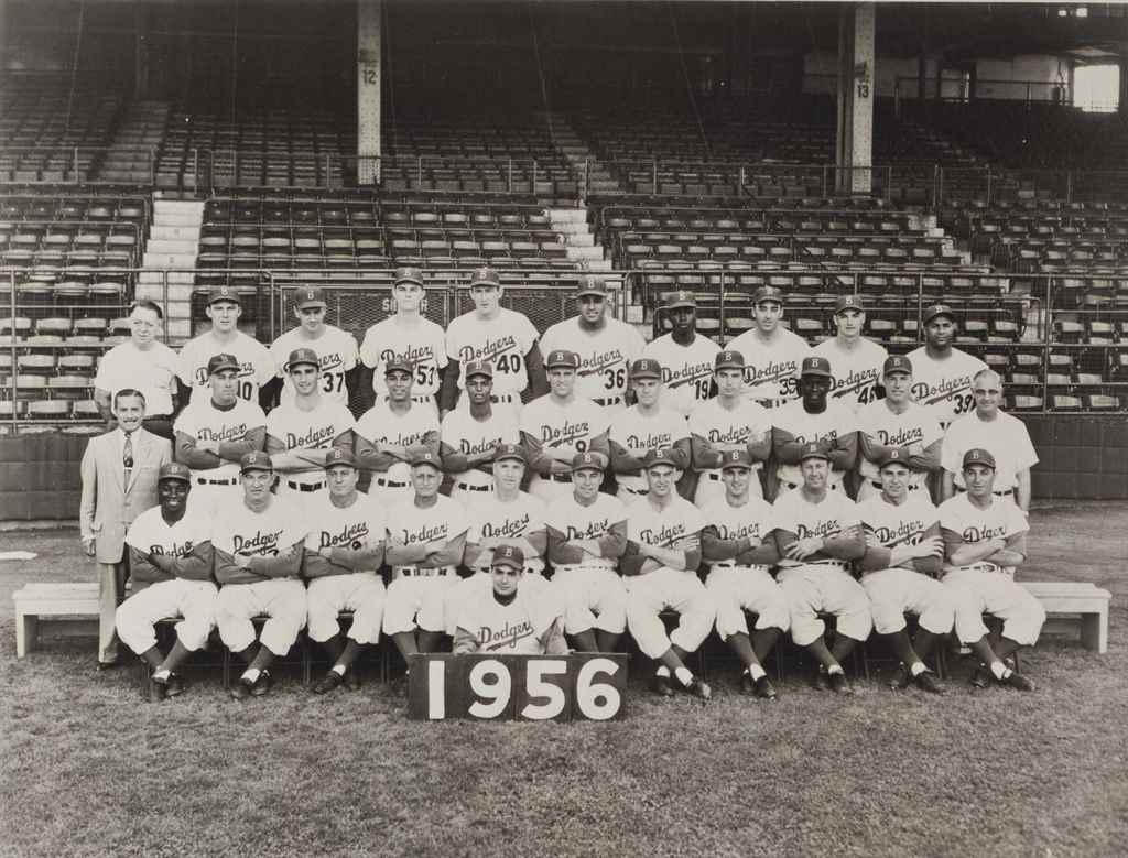 1956 BROOKLYN DODGERS TEAM PHO