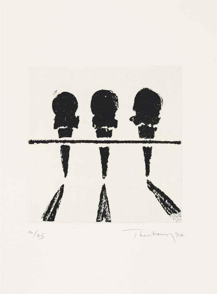 WAYNE THIEBAUD (B. 1920)