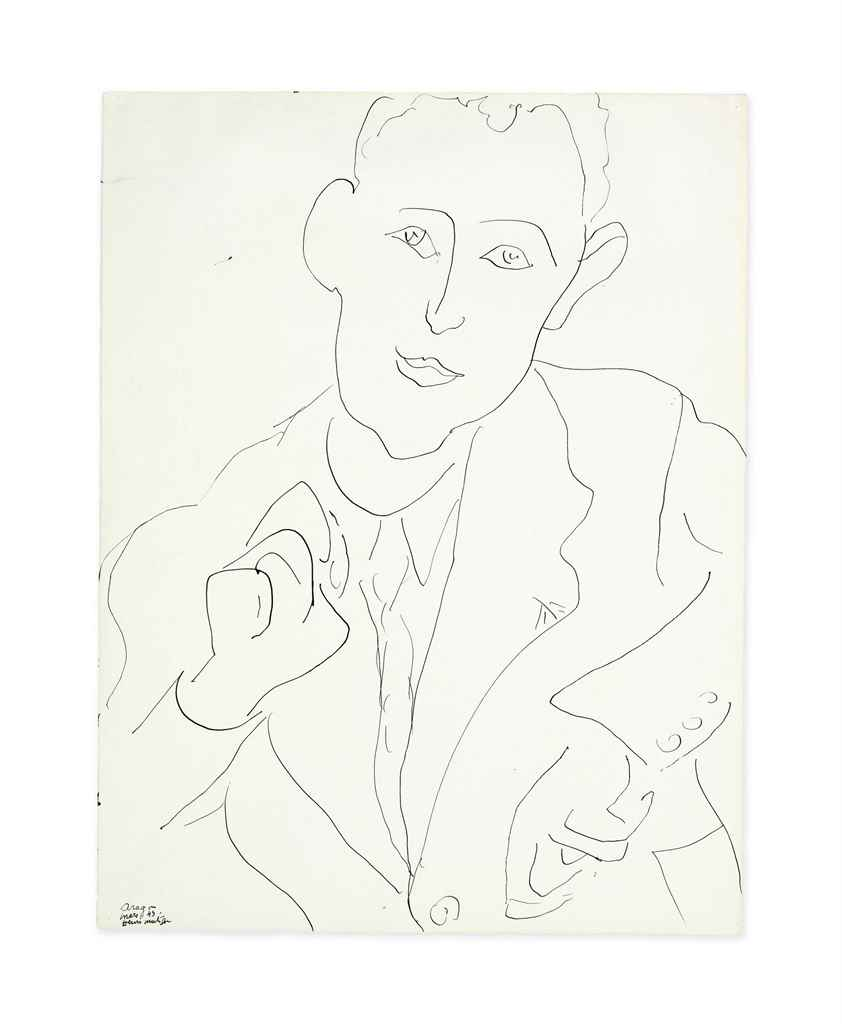 henri matisse portrait de louis aragon th henri matisse 1869 1954