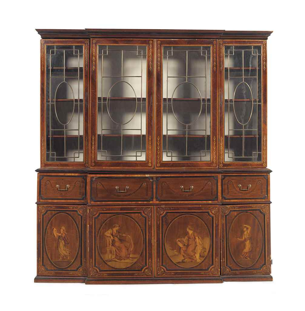 A GEORGE III SATINWOOD, INDIAN