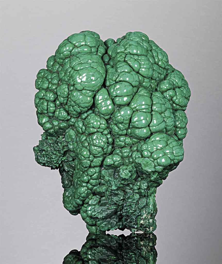 A SPECIMEN OF MALACHITE
