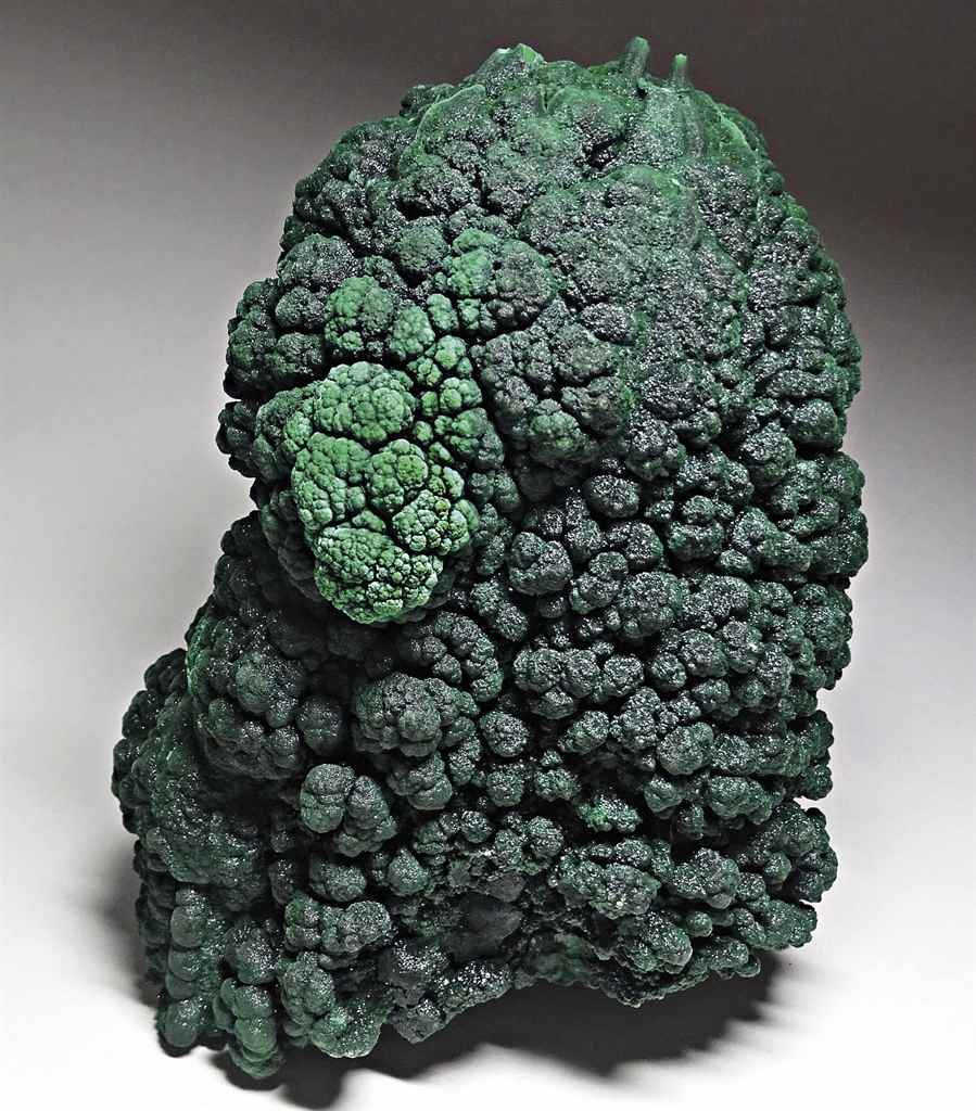 A STALACTITE OF MALACHITE
