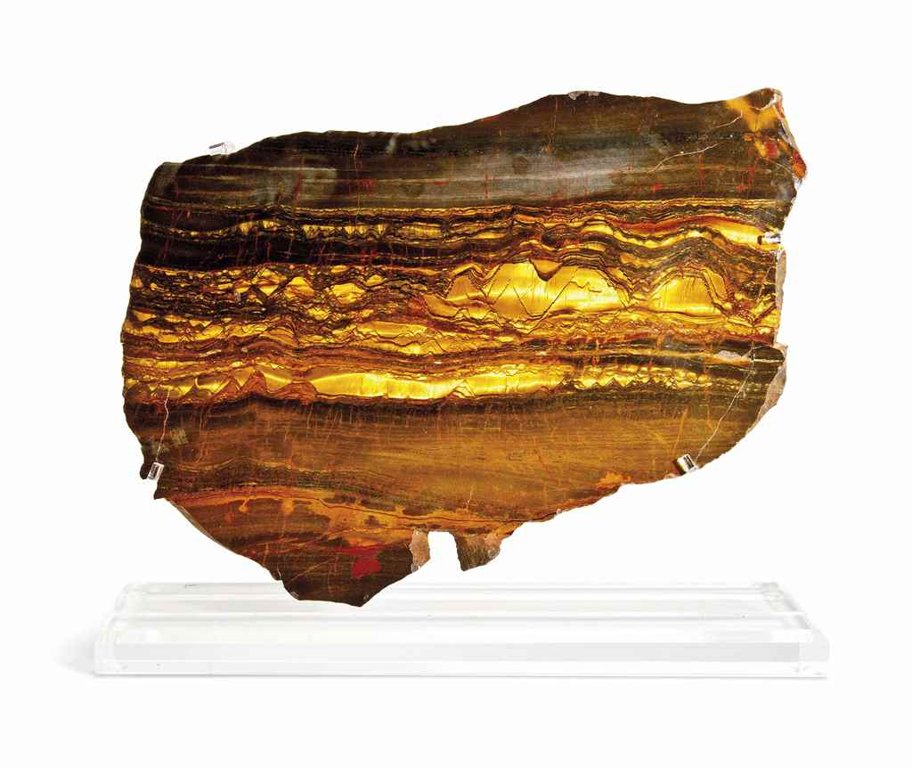 BANDED IRON TIGER EYE