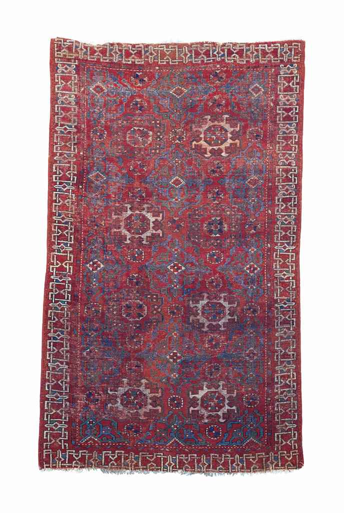 A SMALL PATTERN HOLBEIN RUG