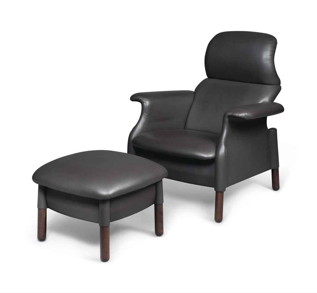 Achille pier giacomo castiglioni 1918 2002 1913 1968 a 39 sanluca 39 lounge chair and - Pier one lounge chairs ...