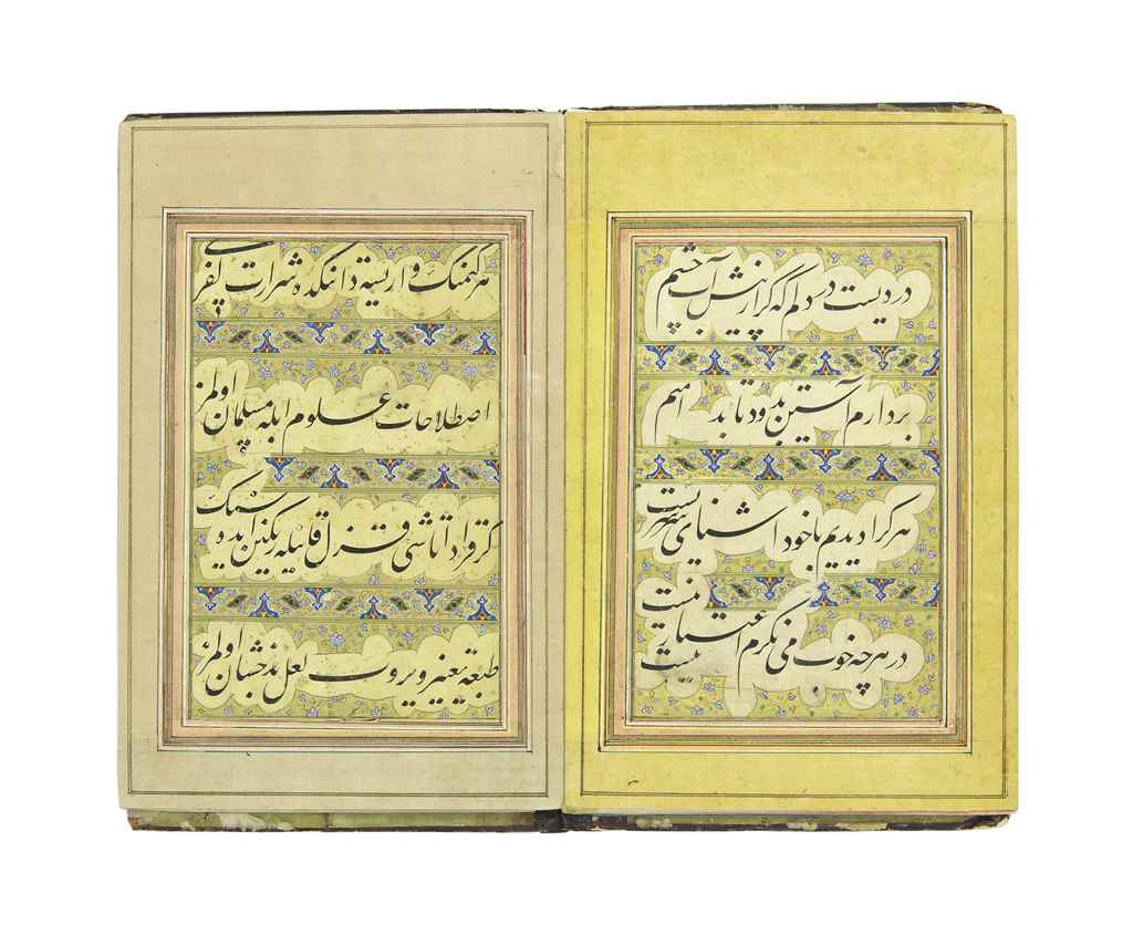 A CALLIGRAPHIC ALBUM IN CONCER