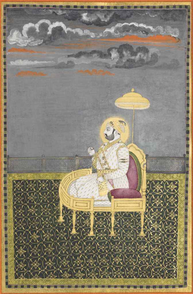 MUHAMMAD SHAH ENTHRONED