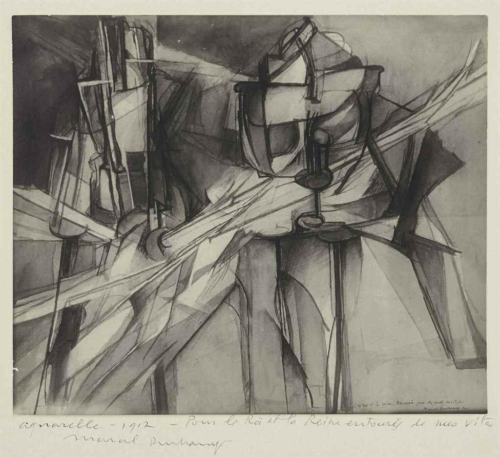 MAN RAY (1890-1976), MARCEL DU
