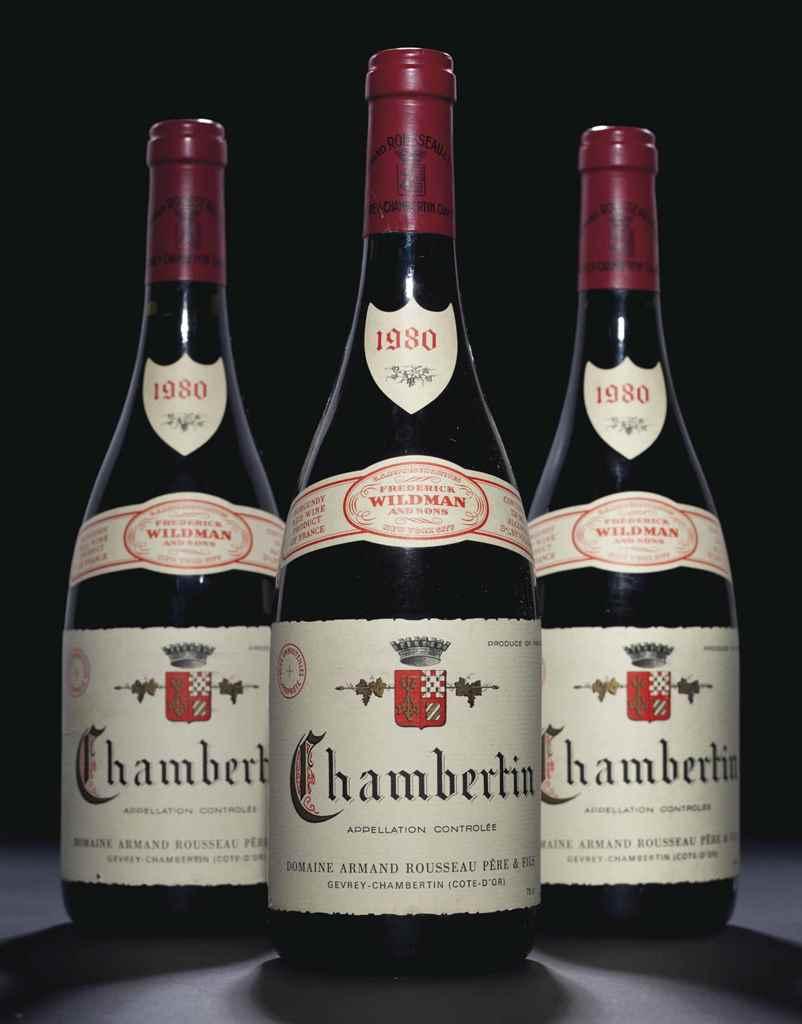 Rousseau, Chambertin 1980 , 19