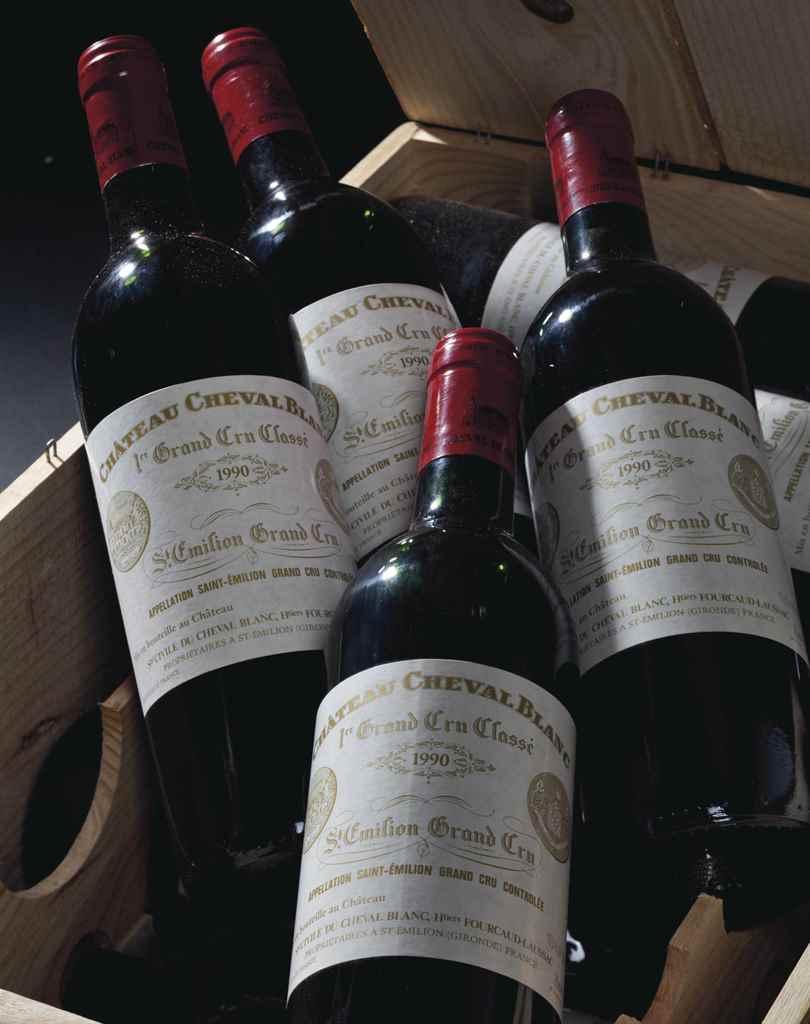 Château Cheval-Blanc 1990 , 19