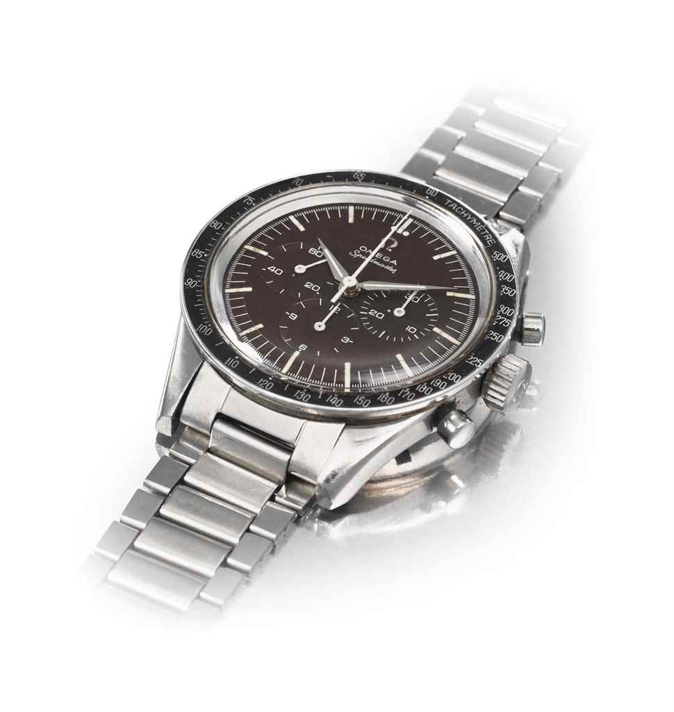 Omega. A fine and rare Stainle