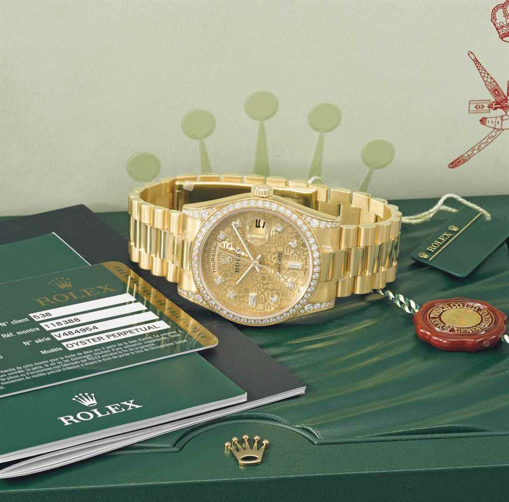 Rolex. A fine and highly attra