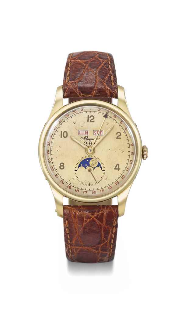 Breguet. A very fine, rare and