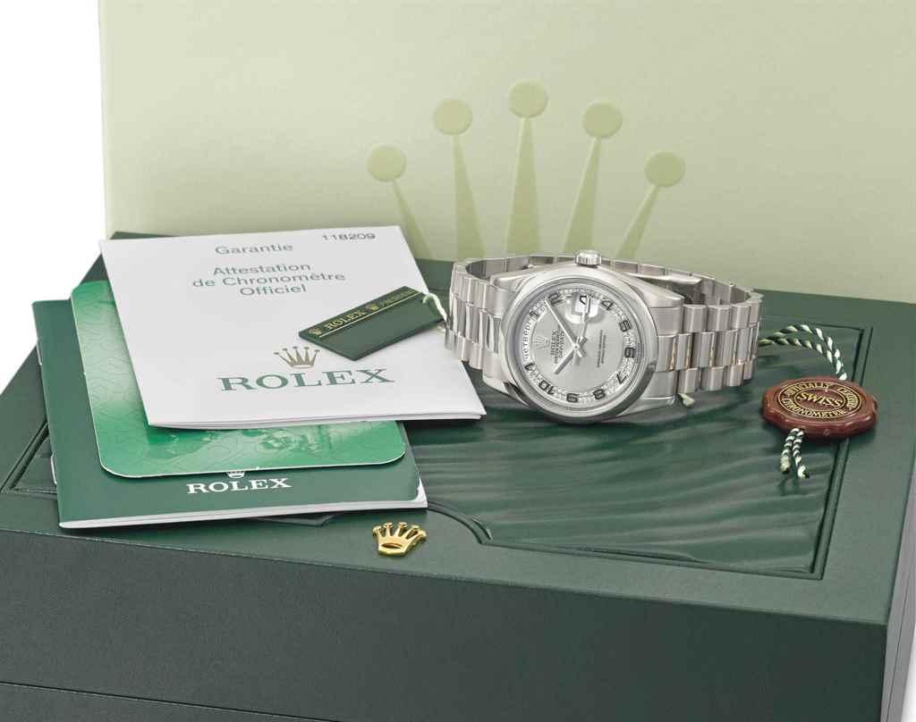 Rolex. A fine, rare and extrem