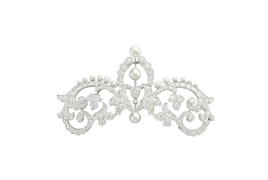 A BELLE ÉPOQUE PEARL AND DIAMO