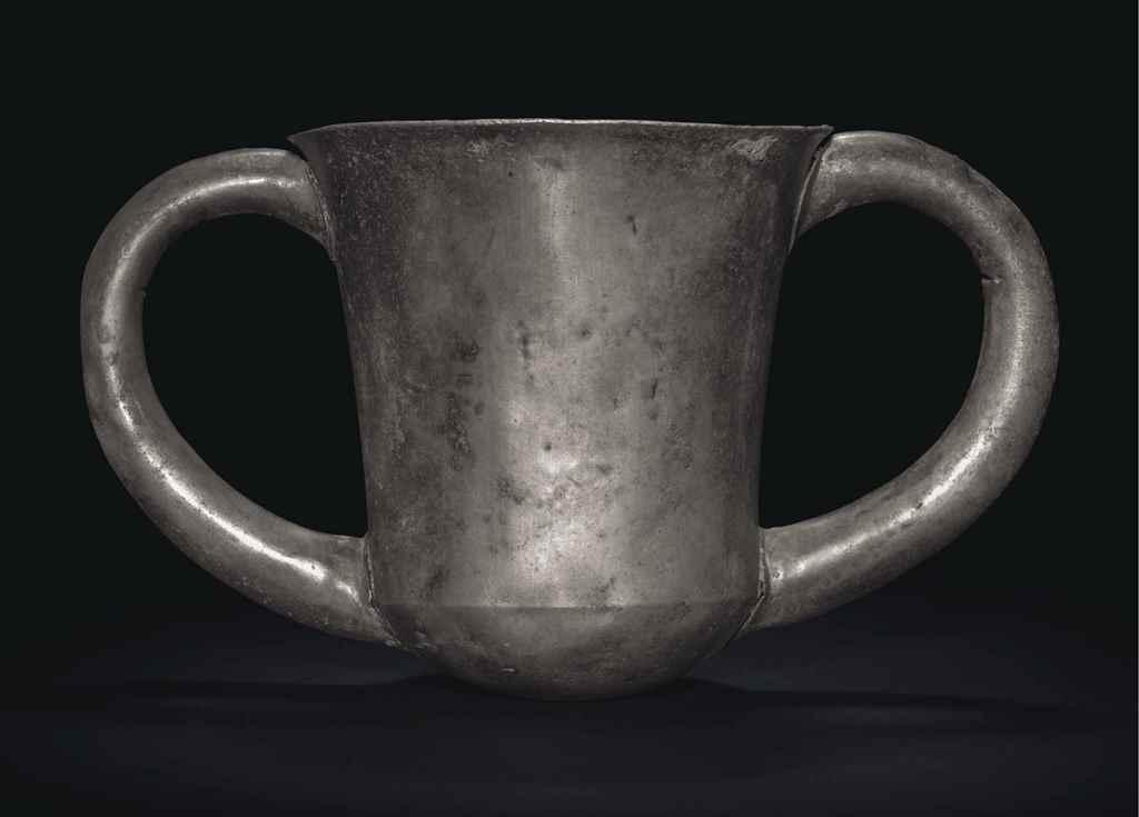 A TROJAN SILVER DEPAS CUP