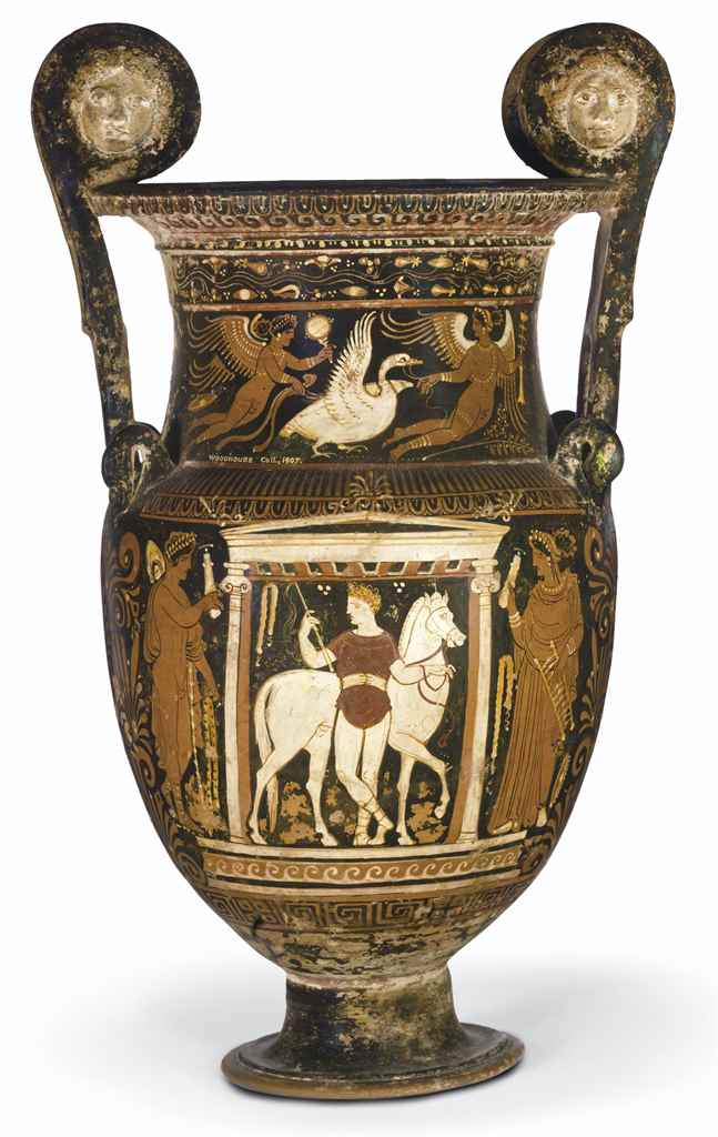 AN APULIAN RED-FIGURED VOLUTE-