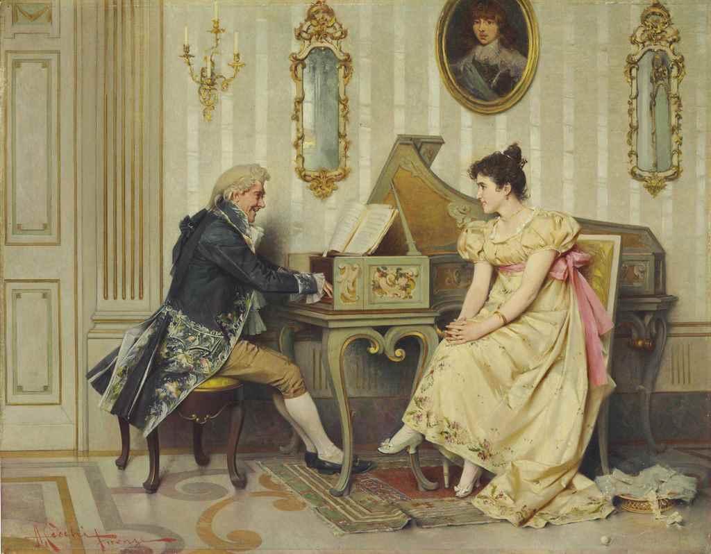 Adriano Cecchi (Italian, 1850-