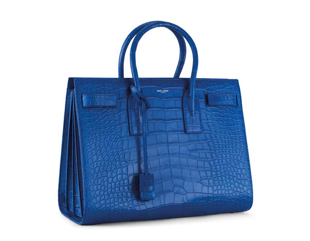 GRAND SAC DE JOUR EN ALLIGATOR