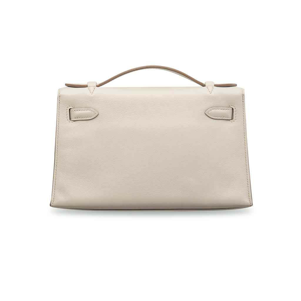 POCHETTE KELLY EN CUIR SWIFT G