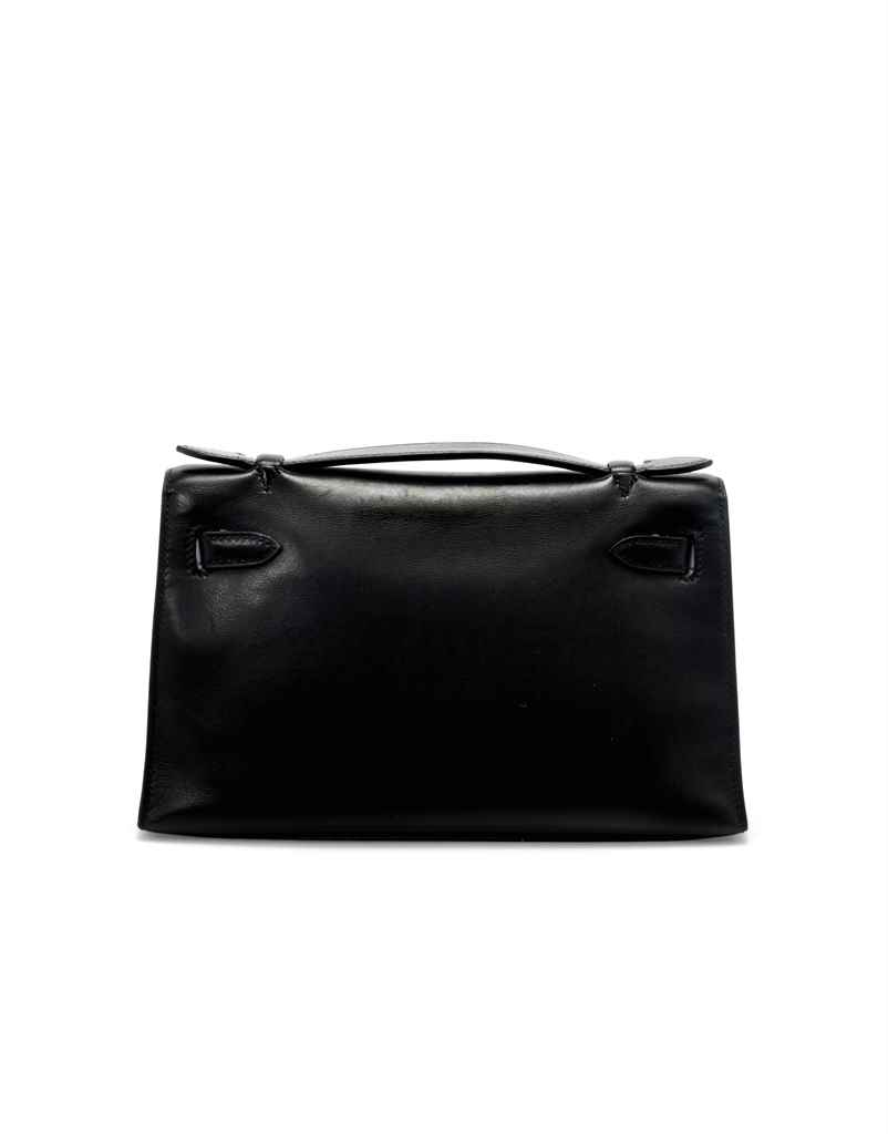 POCHETTE KELLY EN CUIR SWIFT N