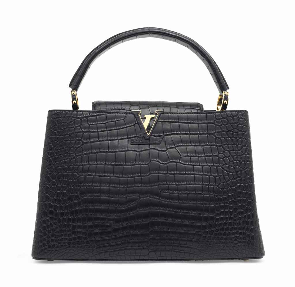 SAC CAPUCINES MM EN CROCODILE