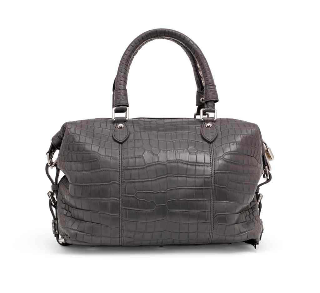 SAC LOUIS EN CROCODILE POROSUS