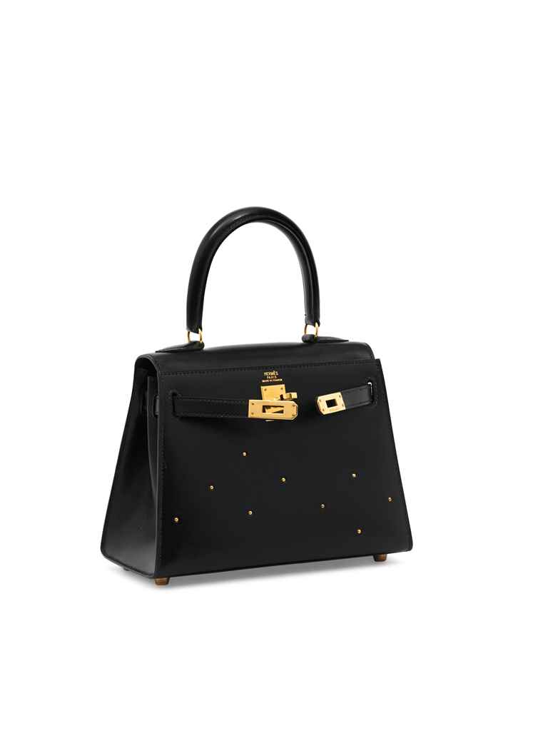 SAC MINI KELLY 20 EN VEAU BOX