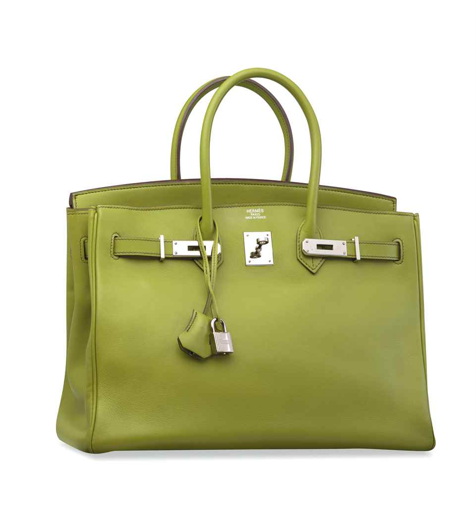 SAC BIRKIN 35 EN CUIR SWIFT VE
