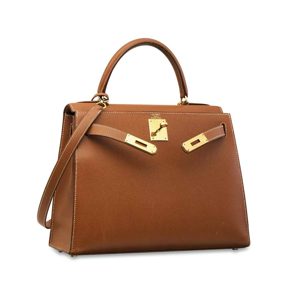 SAC KELLY SELLIER 28 EN CUIR C