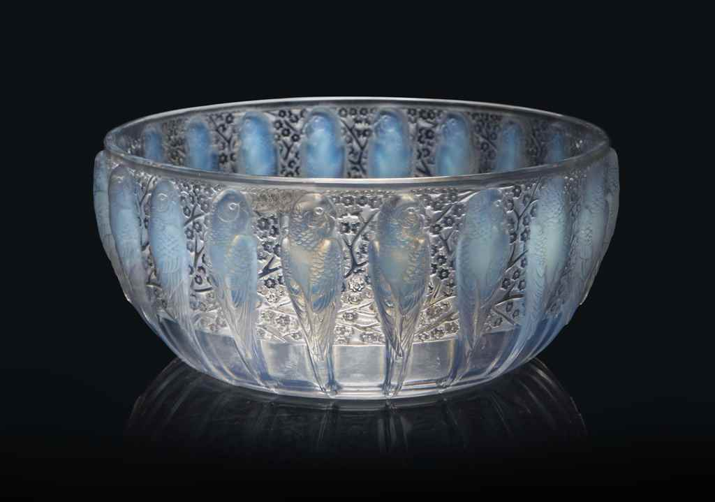 A PERRUCHES BOWL, NO. 419