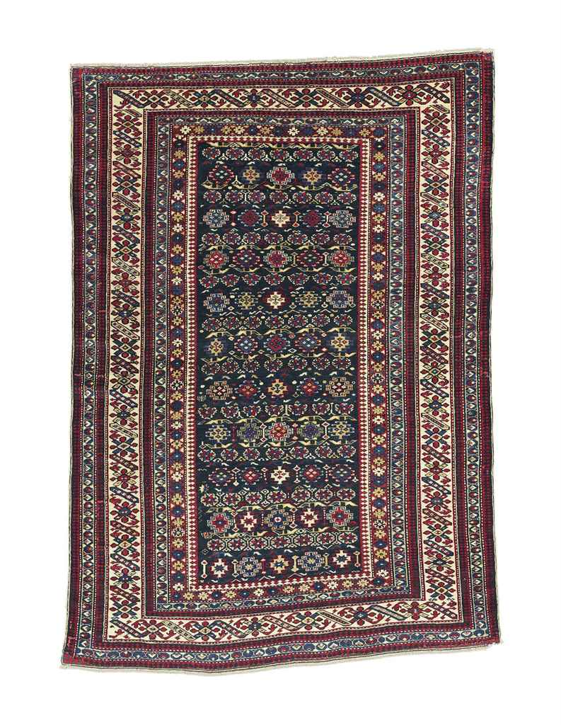 A CHICHI RUG AND SHIRVAN RUG