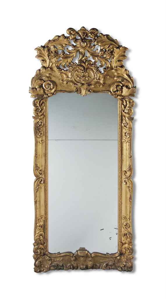 A LARGE FRENCH GILTWOOD PIER M