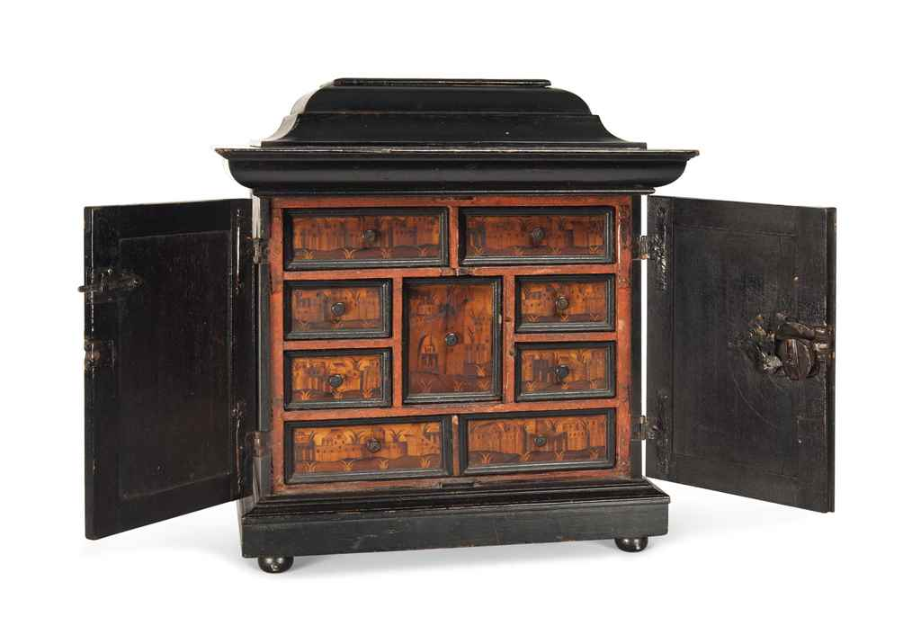 A SOUTH GERMAN MARQUETRY AND E