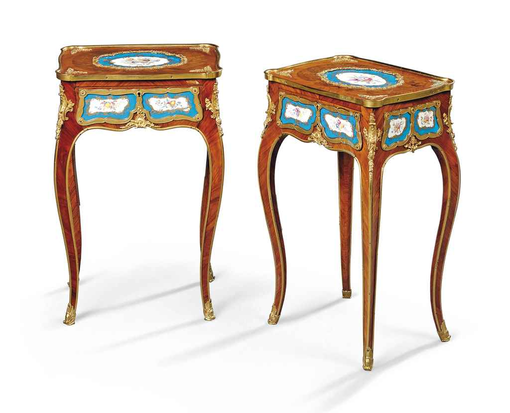 A PAIR OF WILLIAM IV ORMOLU AN