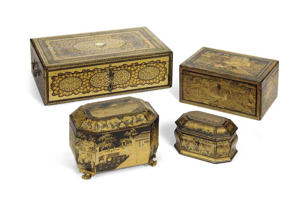 A FINE CHINESE EXPORT LACQUER