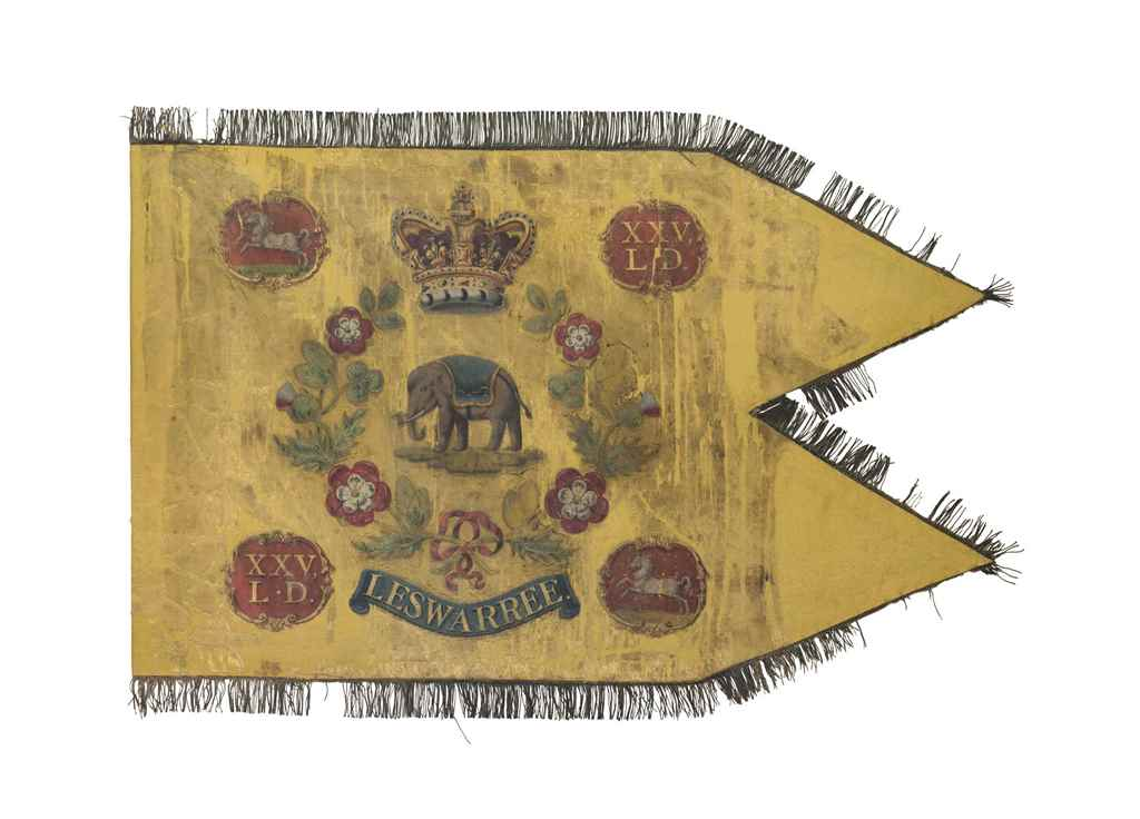 A VERY RARE REGIMENTAL GUIDON