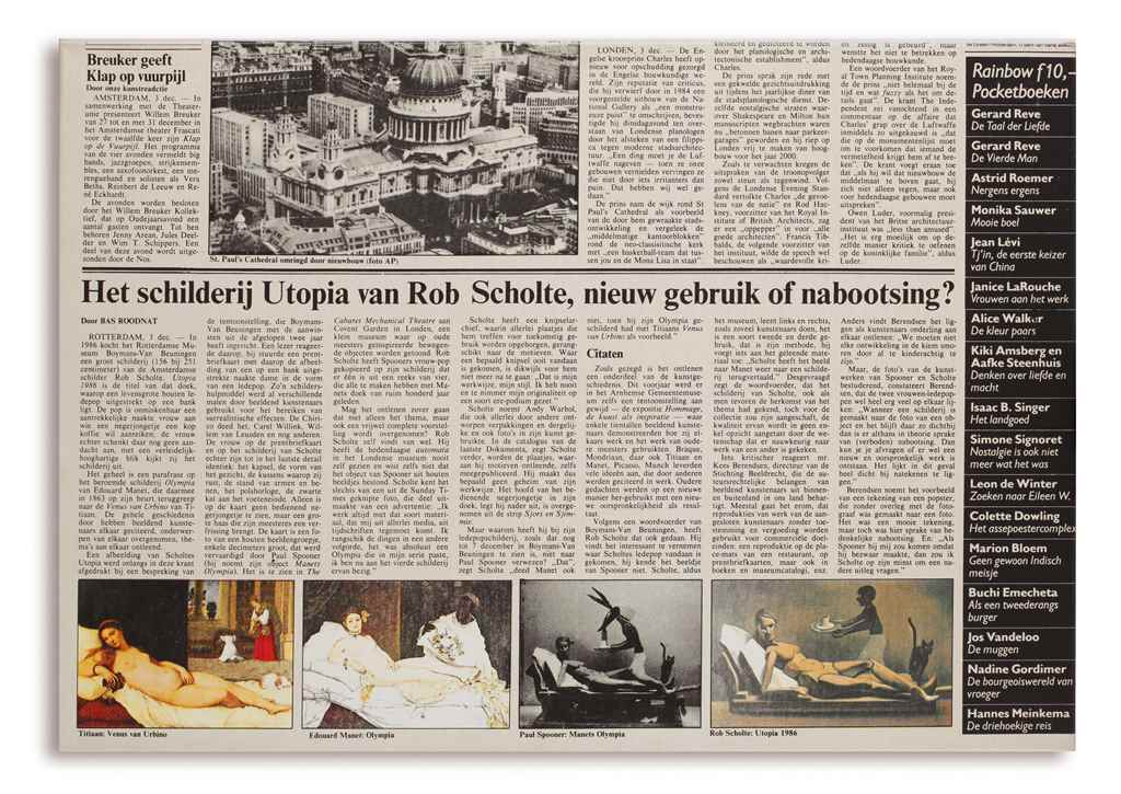 Rob Scholte (b. 1958)