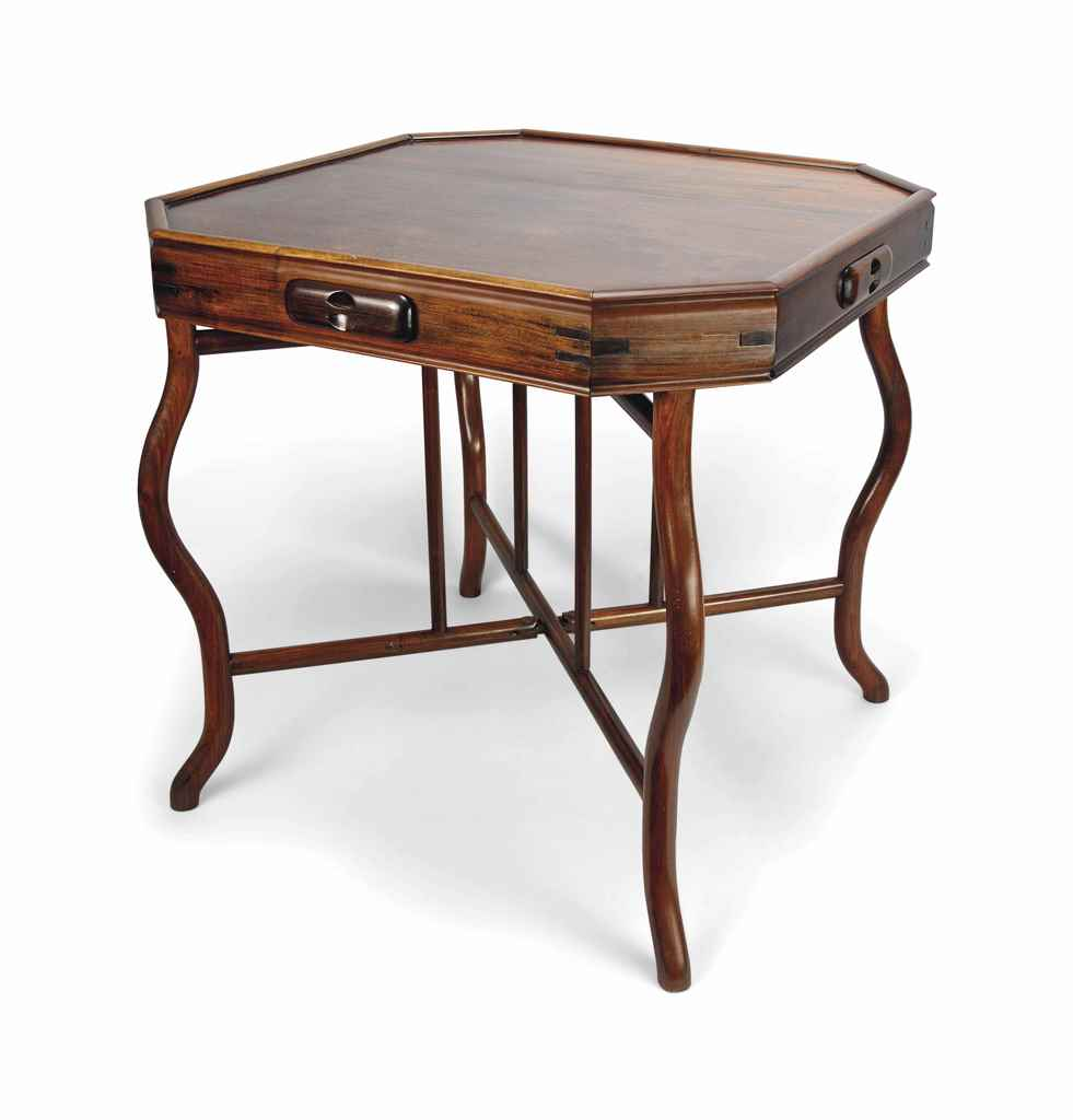 A HARDWOOD GAMES TABLE