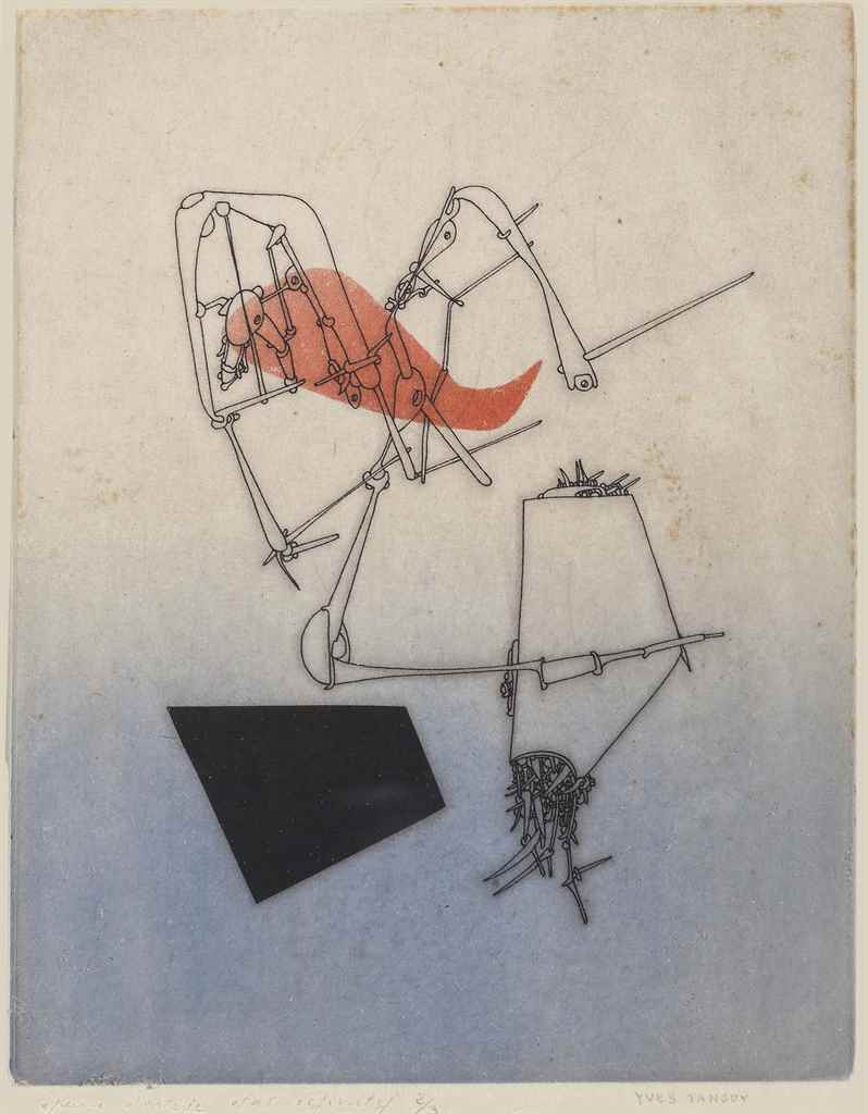 YVES TANGUY (1900-1955)