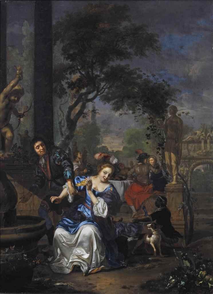 Carel de Moor II (Leiden 1656-