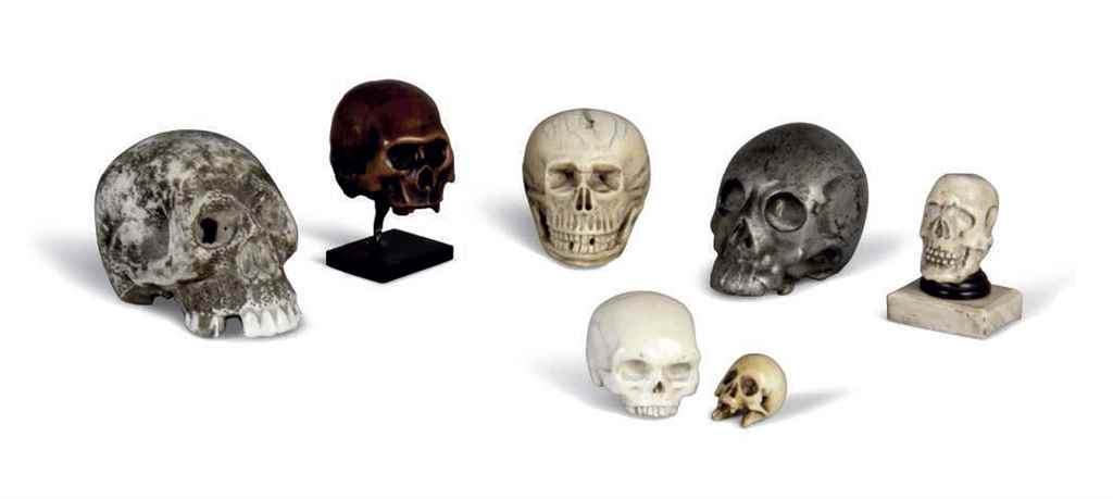 SEVEN MEMENTO MORI MODELS OF S