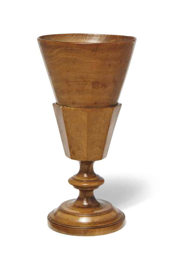A SYCAMORE GOBLET