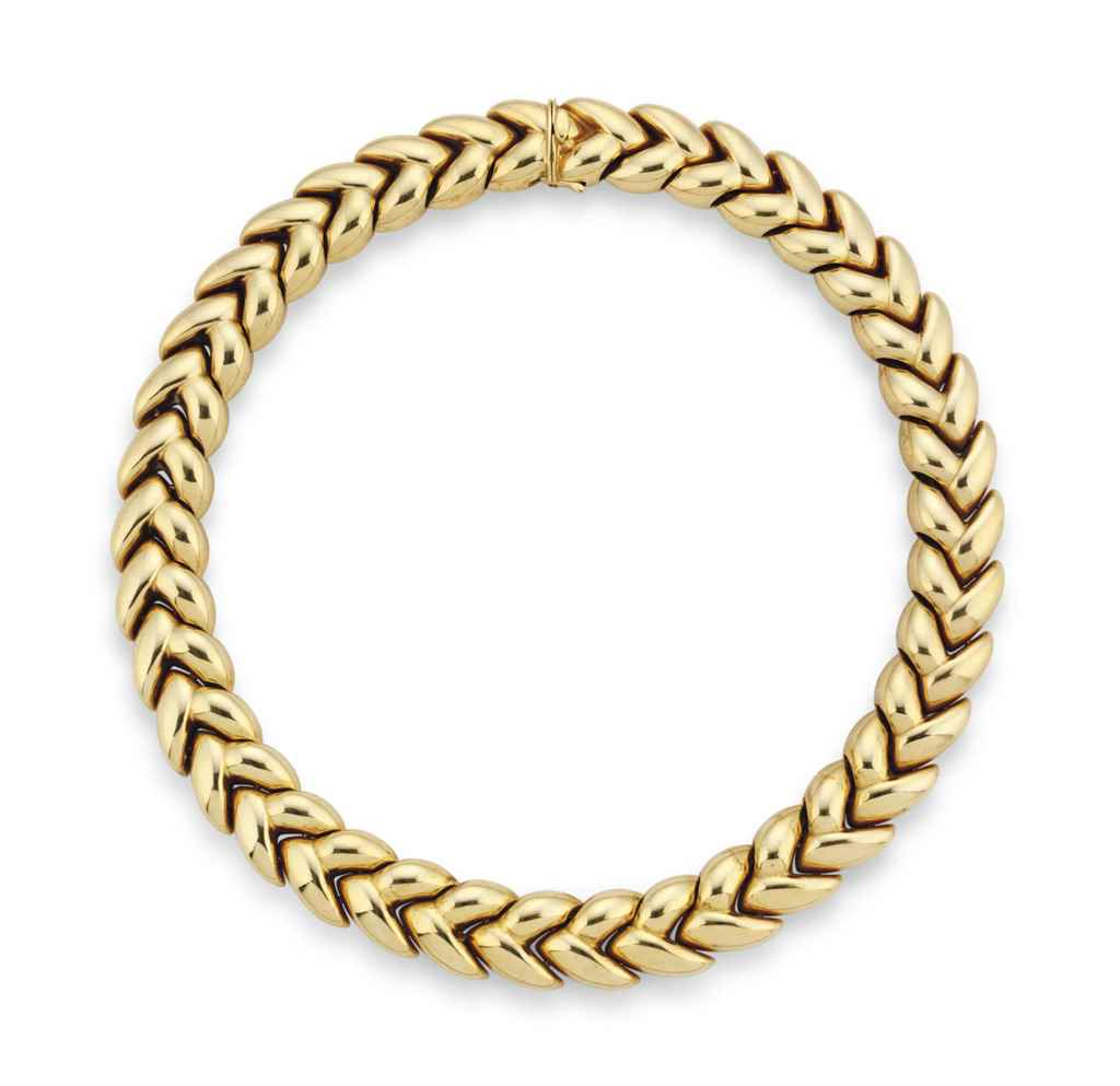 an 18 carat gold elise necklace by cartier christie s