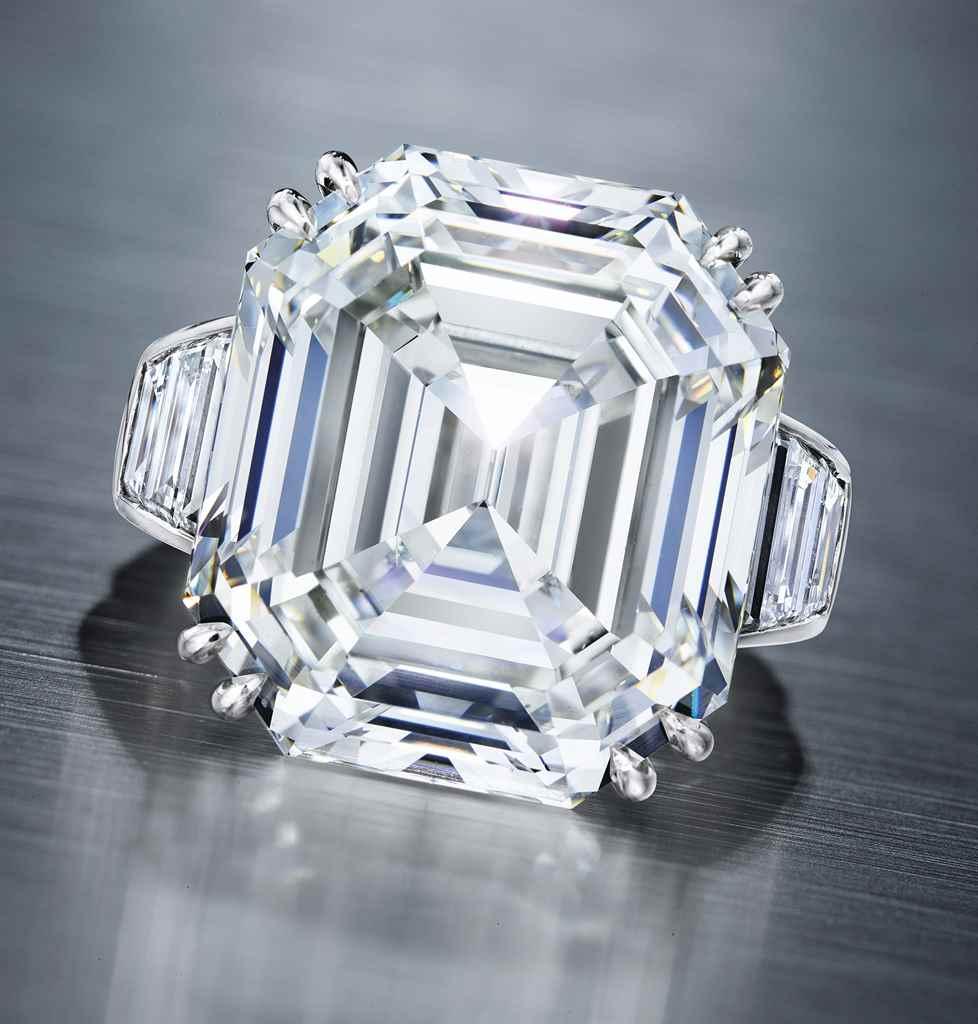 A DIAMOND RING, BY OSCAR HEYMA