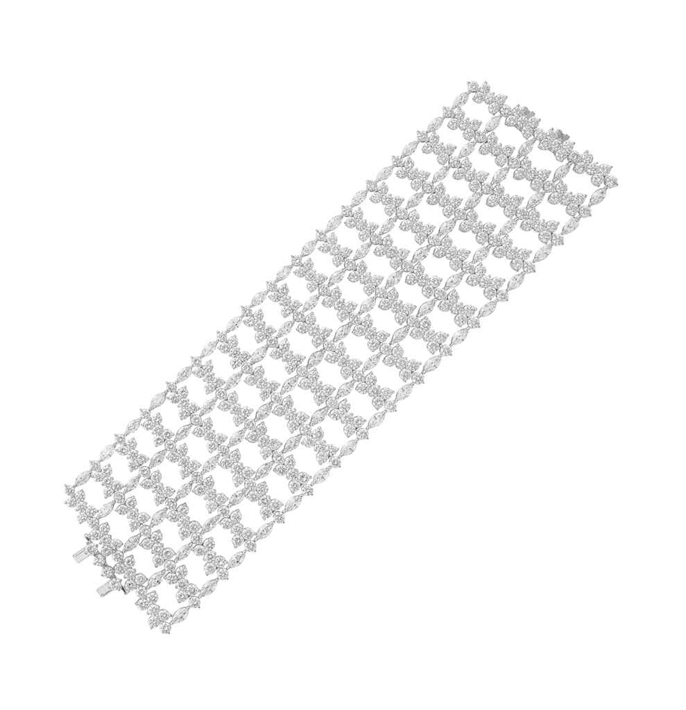 A DIAMOND BRACELET, BY SABBADI