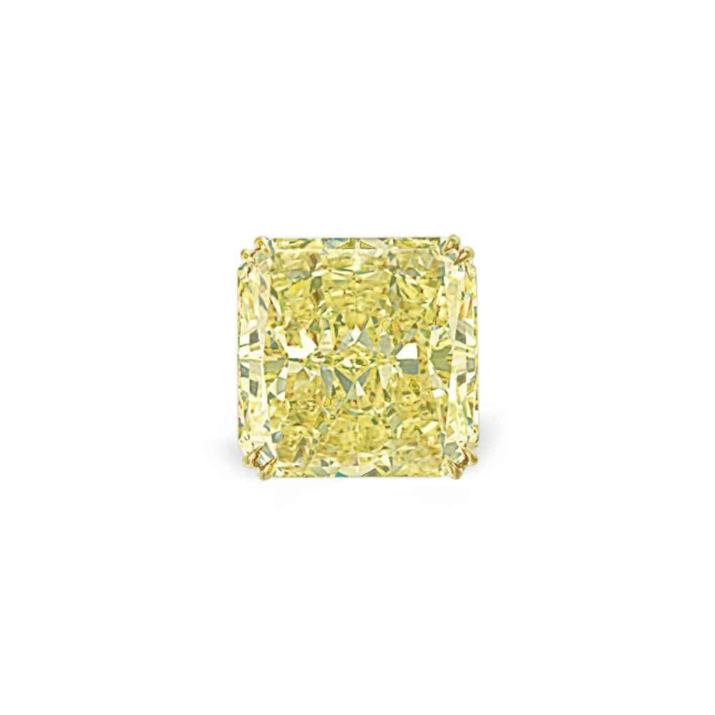 AN IMPRESSIVE COLORED DIAMOND