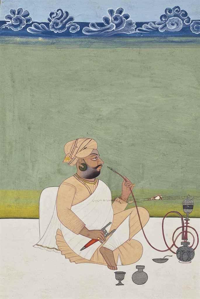 Portrait of a Khanphata yogi